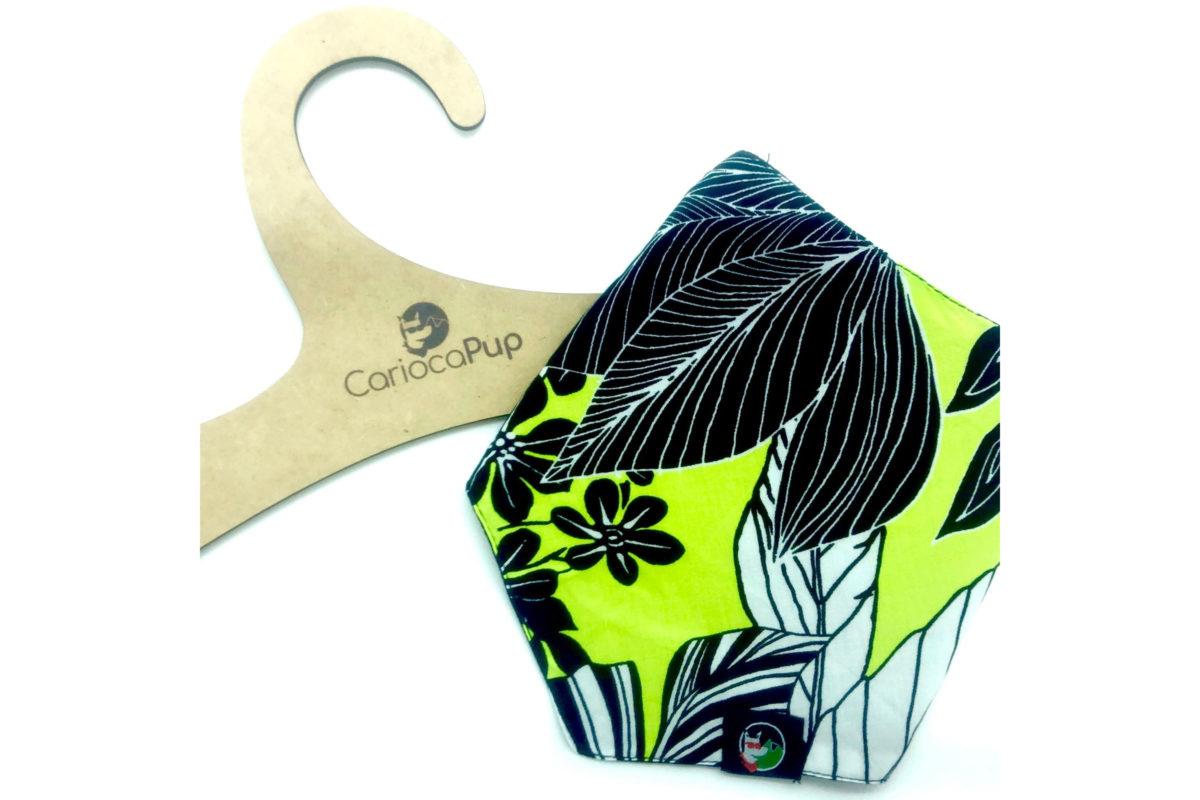 Eco-friendly dog bandana: CariocaPup Samba bandana