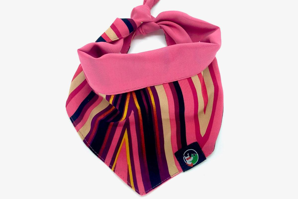 Eco-friendly pet bandana: CariocaPup Love You bandana
