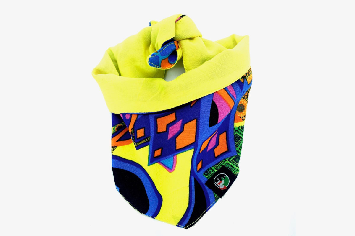 Eco-friendly dog bandana: CariocaPup Guanabara bandana