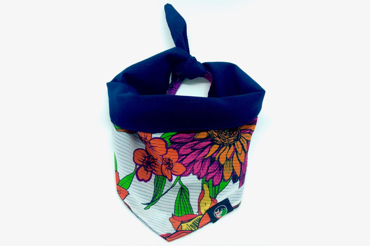 Eco-Friendly Pet Bandana: CariocaPup Summer bandana