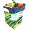 CariocaPup: bandana ecológica Folhagem Tropical - Coleção Natureza